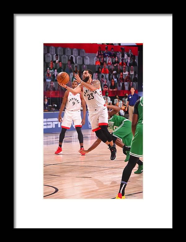 Nba Pro Basketball Framed Print featuring the photograph Fred Vanvleet by Bill Baptist