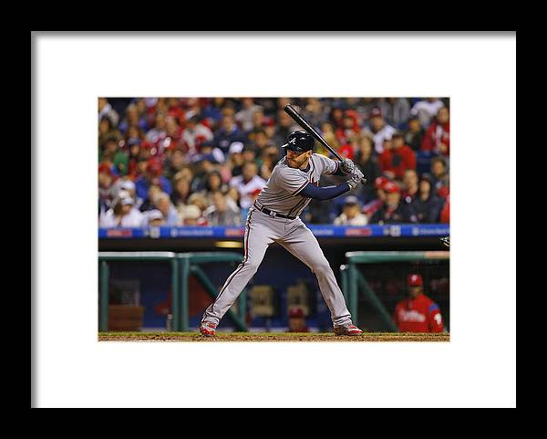 People Framed Print featuring the photograph Freddie Freeman by Rich Schultz