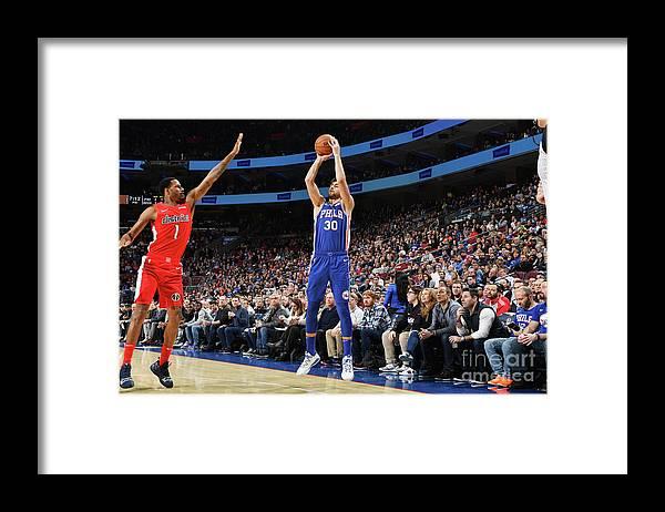 Nba Pro Basketball Framed Print featuring the photograph Furkan Korkmaz by Jesse D. Garrabrant