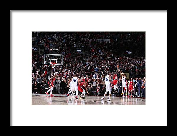 Nba Pro Basketball Framed Print featuring the photograph Furkan Korkmaz by Sam Forencich
