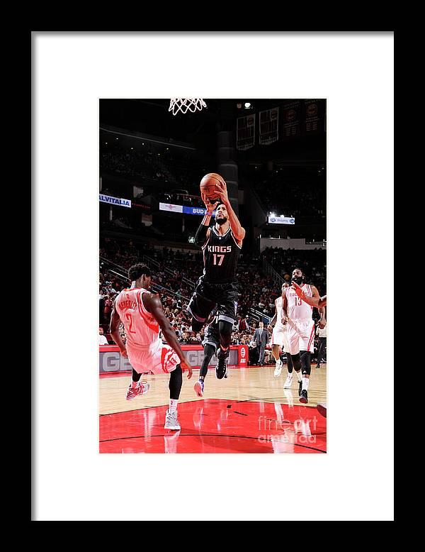 Nba Pro Basketball Framed Print featuring the photograph Garrett Temple by Bill Baptist