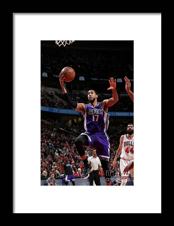 Nba Pro Basketball Framed Print featuring the photograph Garrett Temple by Gary Dineen