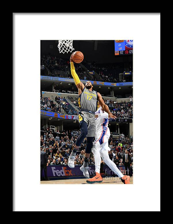 Nba Pro Basketball Framed Print featuring the photograph Garrett Temple by Jesse D. Garrabrant