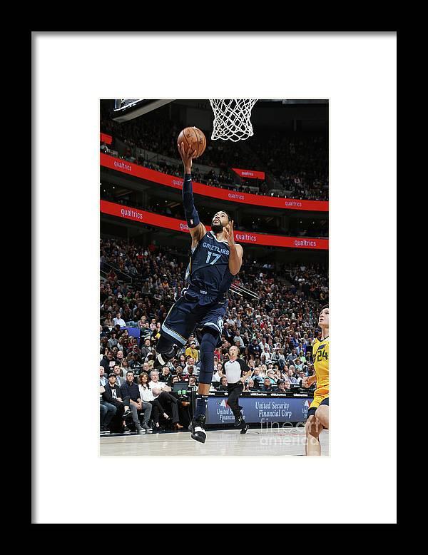 Nba Pro Basketball Framed Print featuring the photograph Garrett Temple by Melissa Majchrzak