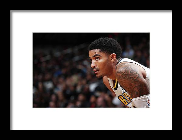 Nba Pro Basketball Framed Print featuring the photograph Gary Harris by Nathaniel S. Butler