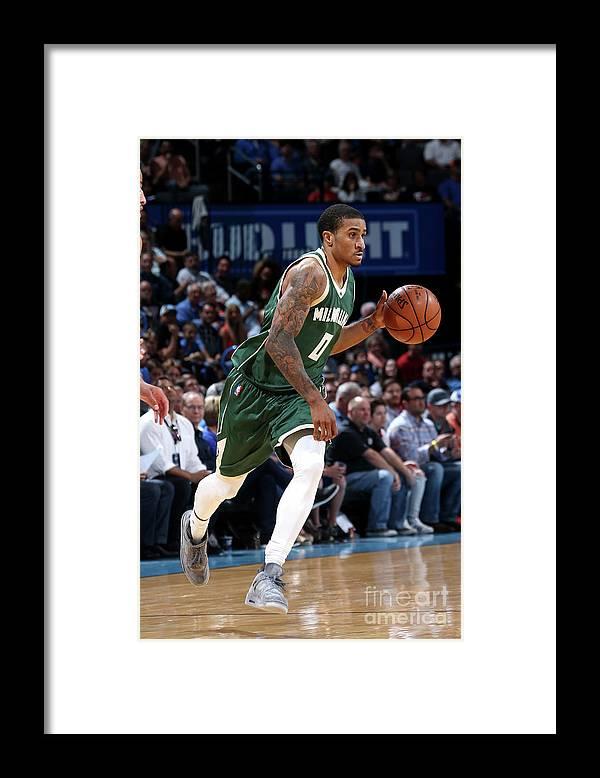 Nba Pro Basketball Framed Print featuring the photograph Gary Payton by Layne Murdoch