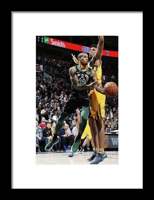 Nba Pro Basketball Framed Print featuring the photograph Gary Payton by Melissa Majchrzak