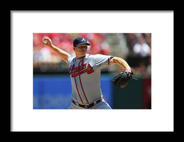 St. Louis Framed Print featuring the photograph Gavin Floyd by Dilip Vishwanat