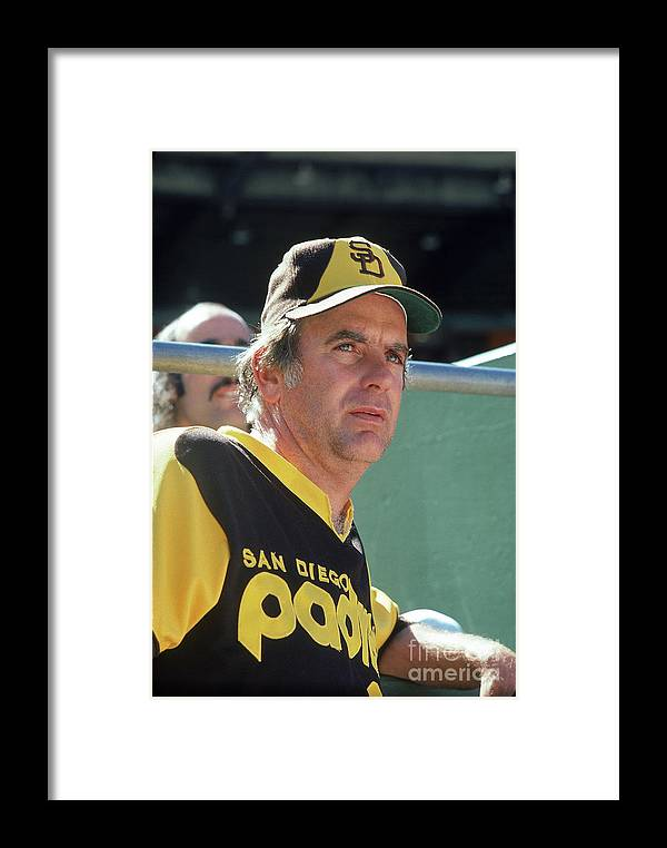 National League Baseball Framed Print featuring the photograph Gaylord Perry by Michael Zagaris