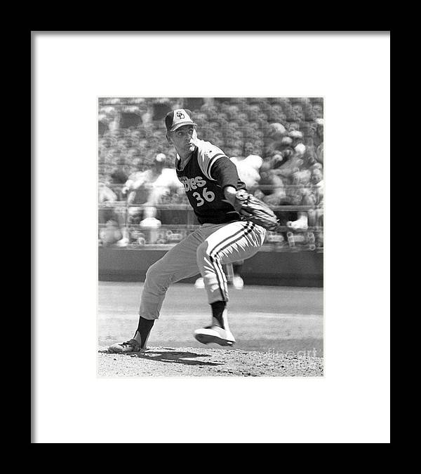Ancient Framed Print featuring the photograph Gaylord Perry by National Baseball Hall Of Fame Library