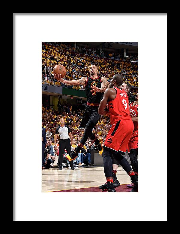 Playoffs Framed Print featuring the photograph George Hill by David Liam Kyle