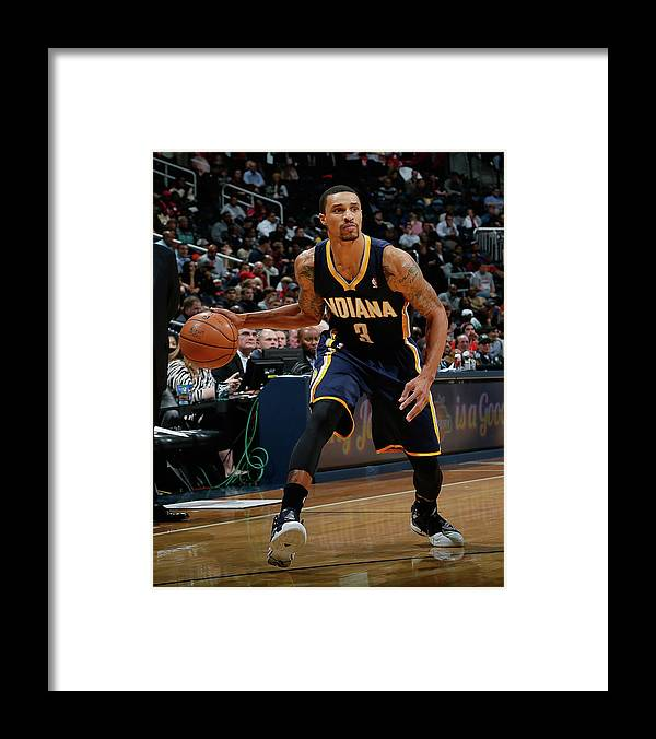 Atlanta Framed Print featuring the photograph George Hill by Kevin C. Cox