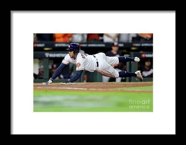 American League Baseball Framed Print featuring the photograph George Washington by Elsa