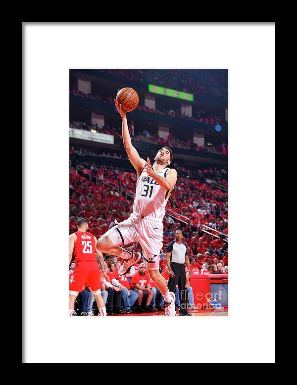 Playoffs Framed Print featuring the photograph Georges Niang by Bill Baptist