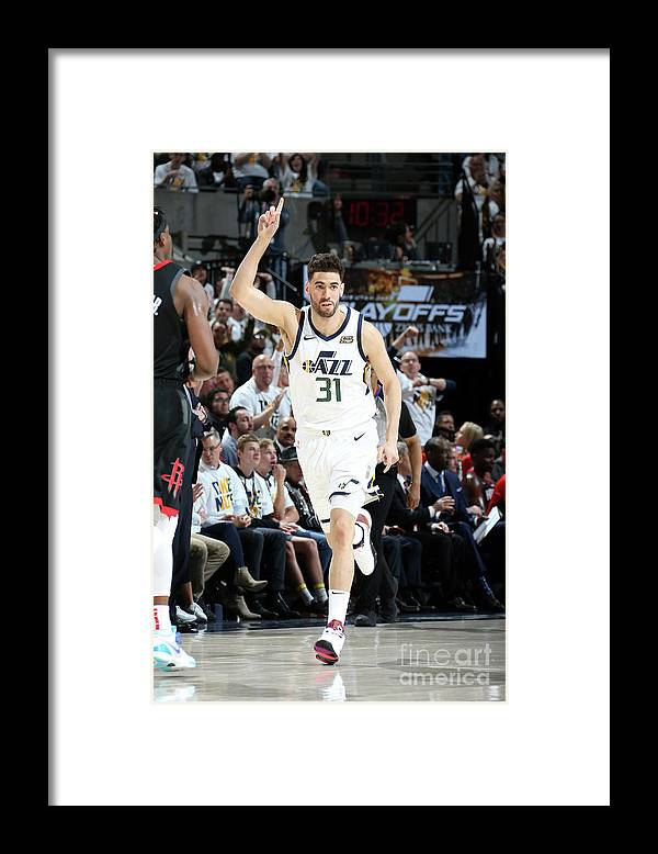 Playoffs Framed Print featuring the photograph Georges Niang by Melissa Majchrzak