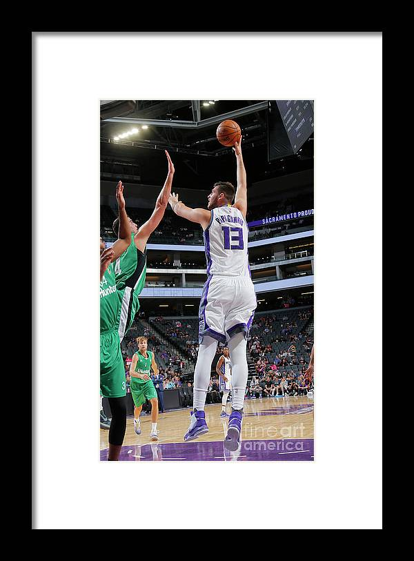 Maccabi Haifa Framed Print featuring the photograph Georgios Papagiannis by Rocky Widner