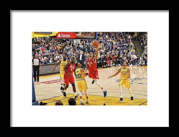 Nba Pro Basketball Framed Print featuring the photograph Gerald Green by Andrew D. Bernstein