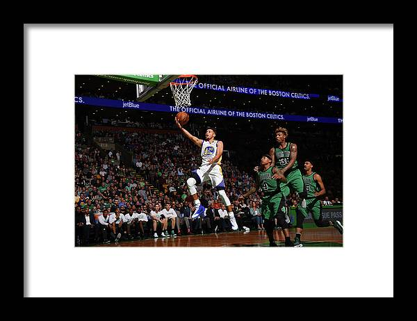 Nba Pro Basketball Framed Print featuring the photograph Gerald Green by Brian Babineau