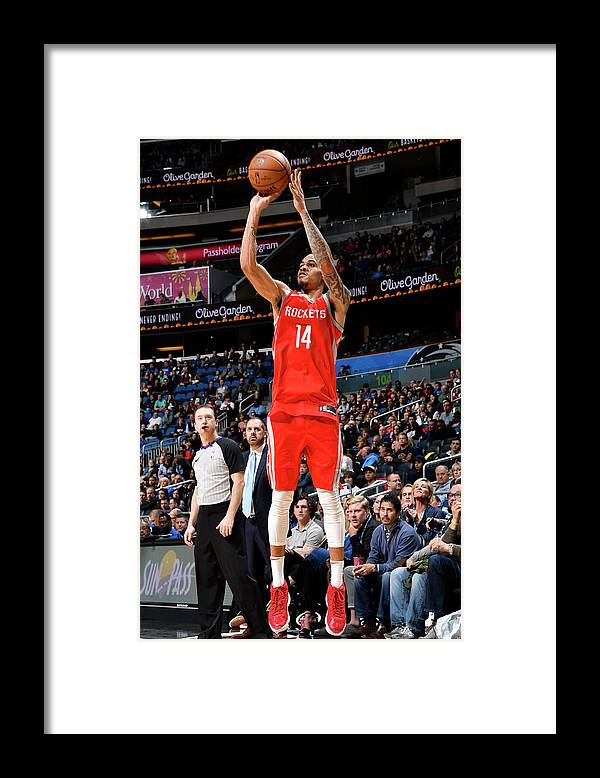 Nba Pro Basketball Framed Print featuring the photograph Gerald Green by Fernando Medina