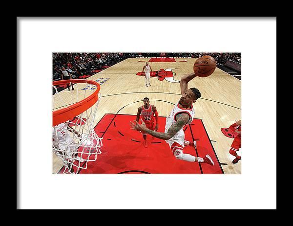 Nba Pro Basketball Framed Print featuring the photograph Gerald Green by Gary Dineen
