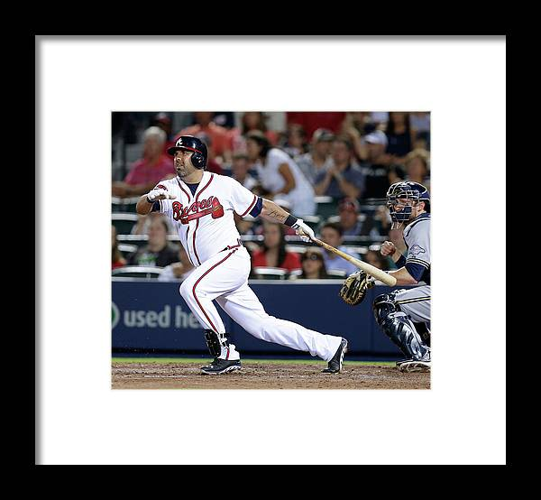 Atlanta Framed Print featuring the photograph Gerald Laird by Mike Zarrilli