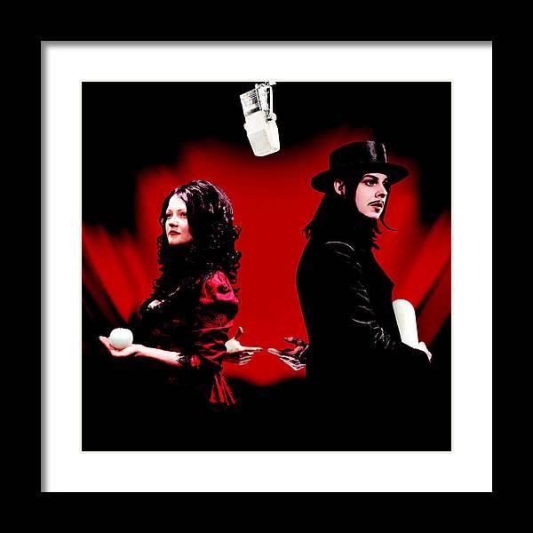 Get Behind Me Satan by The White Stripes by Music N Film Prints