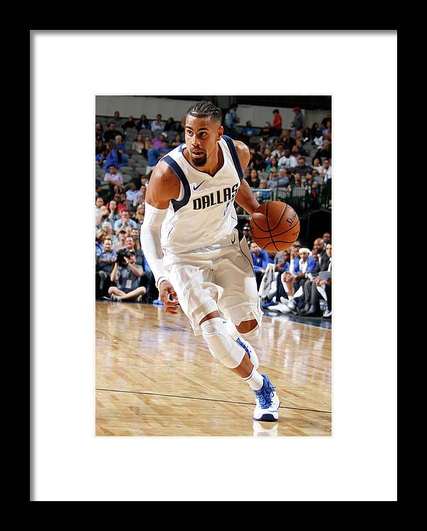 Nba Pro Basketball Framed Print featuring the photograph Gian Clavell by Danny Bollinger
