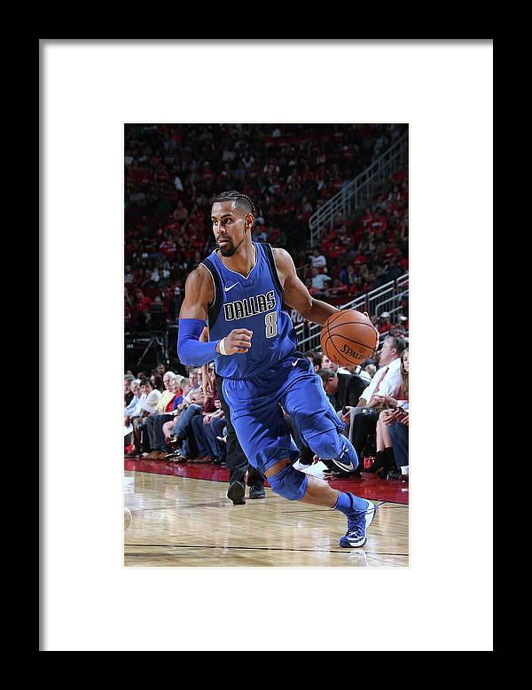 Nba Pro Basketball Framed Print featuring the photograph Gian Clavell by Layne Murdoch