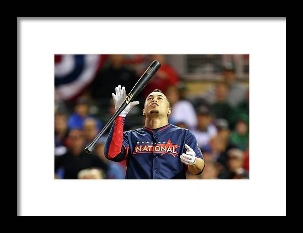 American League Baseball Framed Print featuring the photograph Giancarlo Stanton by Elsa