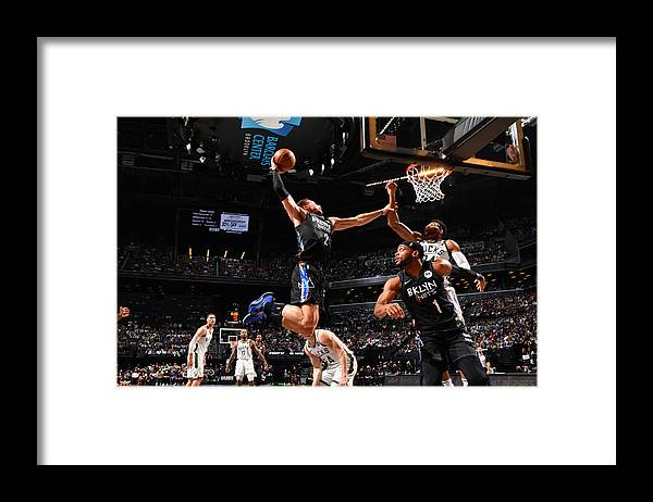 Nba Pro Basketball Framed Print featuring the photograph Giannis Antetokounmpo and Blake Griffin by Jesse D. Garrabrant