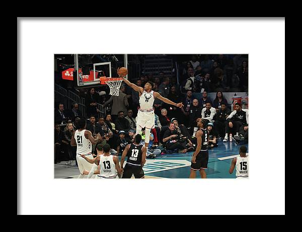 Nba Pro Basketball Framed Print featuring the photograph Giannis Antetokounmpo by Joe Murphy