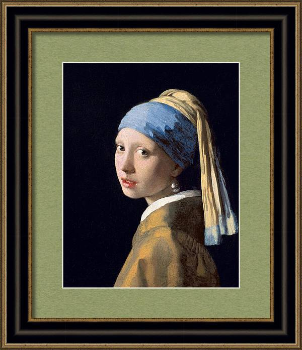 Girl with a Pearl Earring, circa 1665 by Jan Vermeer