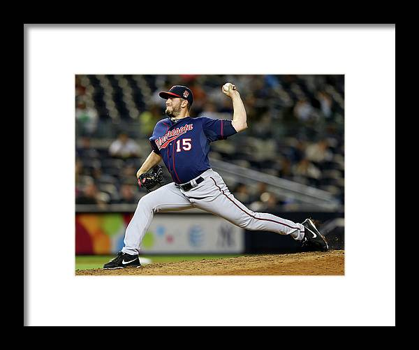 Ninth Inning Framed Print featuring the photograph Glen Perkins by Elsa