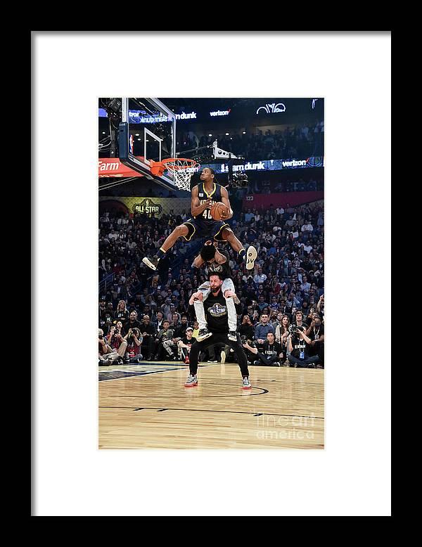 Event Framed Print featuring the photograph Glenn Robinson by Bill Baptist