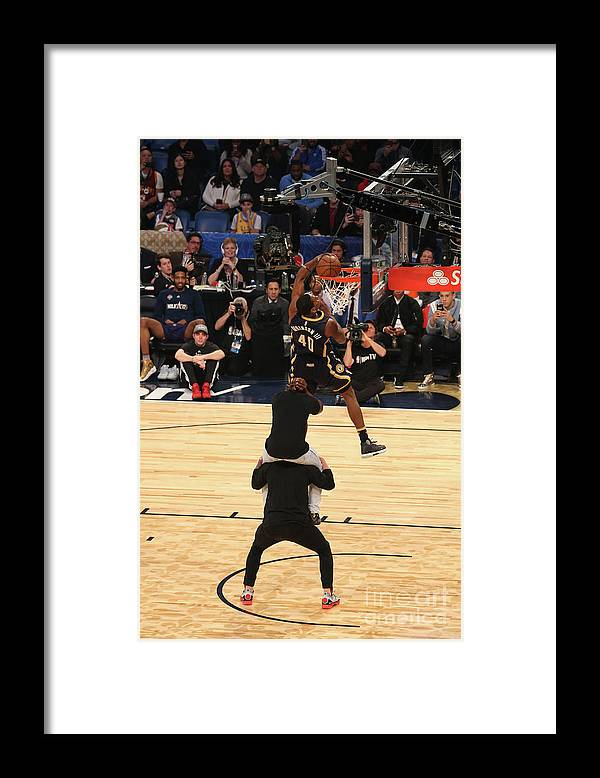 Event Framed Print featuring the photograph Glenn Robinson by Gary Dineen