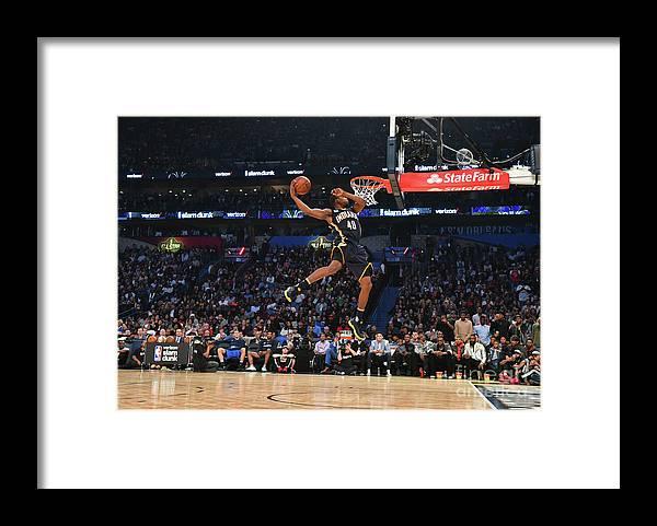 Event Framed Print featuring the photograph Glenn Robinson by Jesse D. Garrabrant