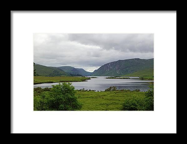 Mountain Framed Print featuring the photograph Glenveagh National Park by Babett Paul