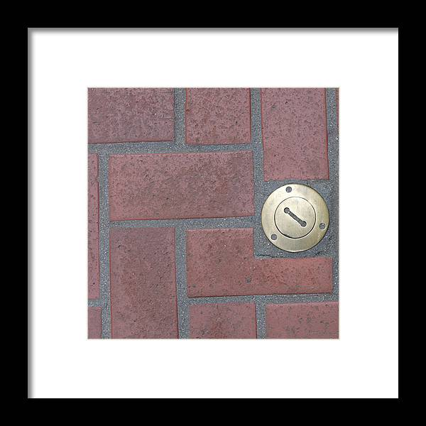 Photograph Framed Print featuring the photograph Gold Brick by Richard Wetterauer