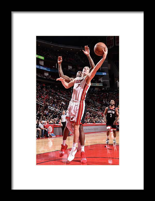 Nba Pro Basketball Framed Print featuring the photograph Goran Dragic by Bill Baptist