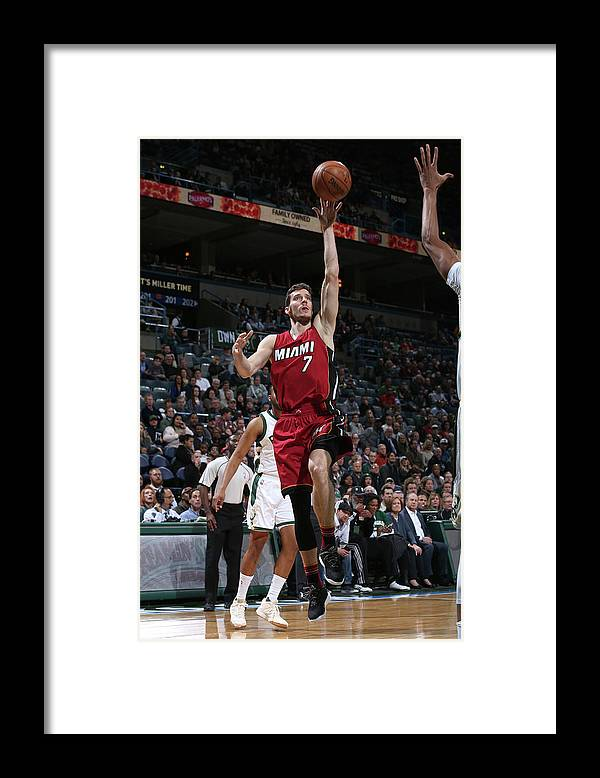 Nba Pro Basketball Framed Print featuring the photograph Goran Dragic by Gary Dineen
