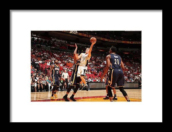 Nba Pro Basketball Framed Print featuring the photograph Goran Dragic by Issac Baldizon
