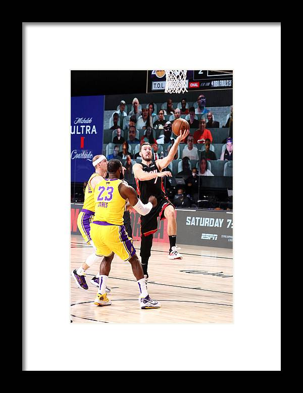 Playoffs Framed Print featuring the photograph Goran Dragic by Nathaniel S. Butler