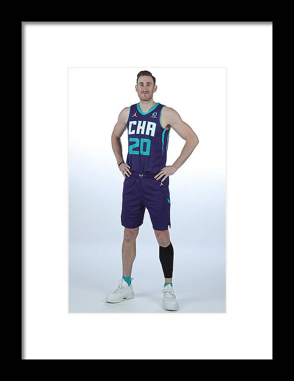 Media Day Framed Print featuring the photograph Gordon Hayward by Kent Smith
