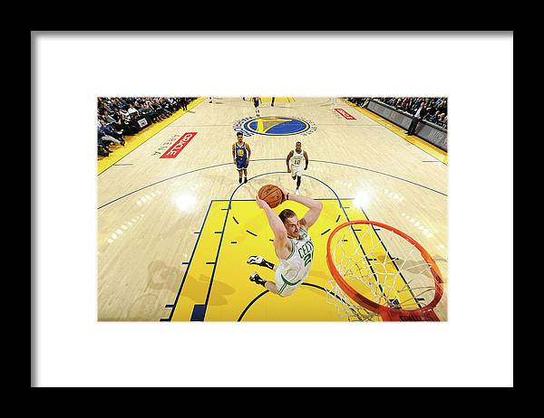 Nba Pro Basketball Framed Print featuring the photograph Gordon Hayward by Noah Graham
