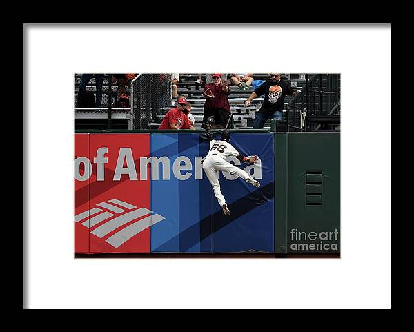 San Francisco Framed Print featuring the photograph Gorkys Hernandez and Tommy Pham by Thearon W. Henderson