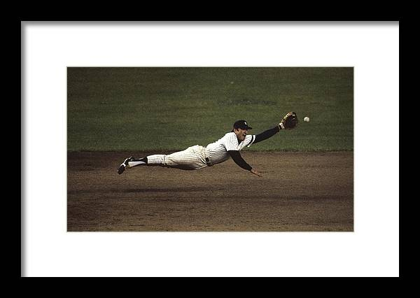 1980-1989 Framed Print featuring the photograph Graig Nettles by Ronald C. Modra/sports Imagery