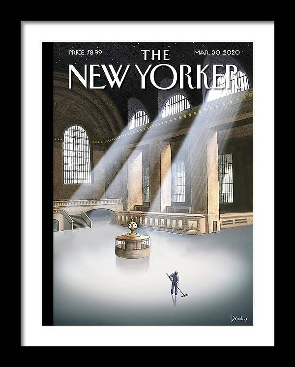 Grand Central Terminal by Eric Drooker