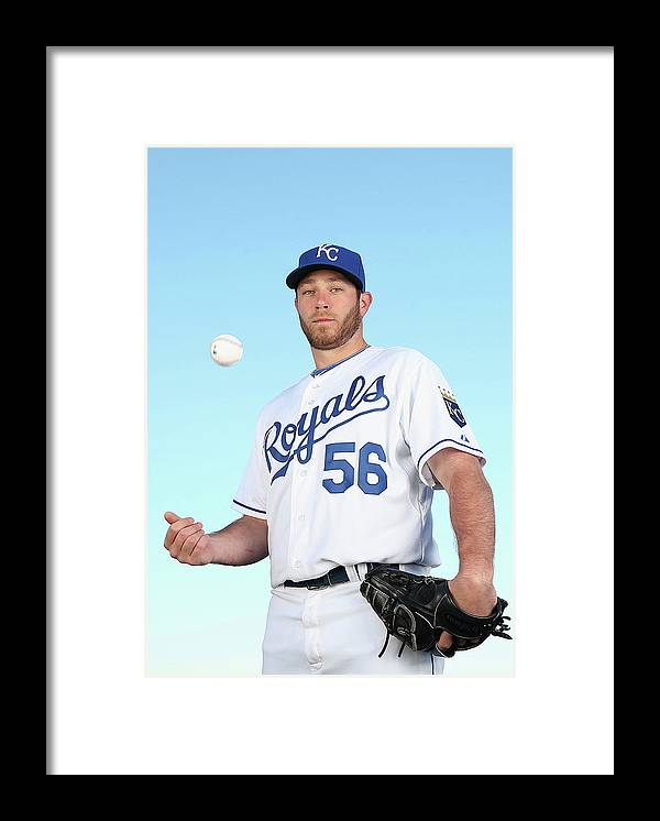 Media Day Framed Print featuring the photograph Greg Holland by Christian Petersen