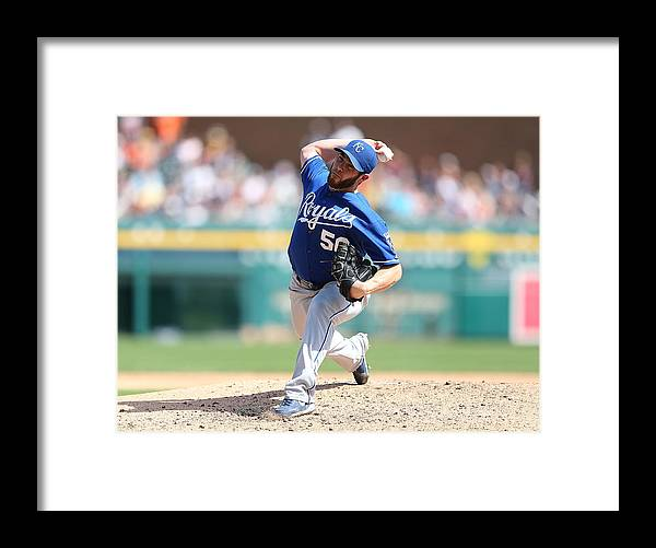 Ninth Inning Framed Print featuring the photograph Greg Holland by Leon Halip