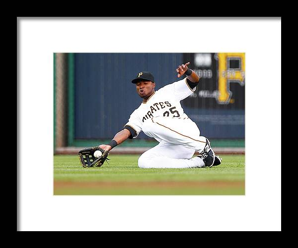 People Framed Print featuring the photograph Gregory Polanco by Jared Wickerham